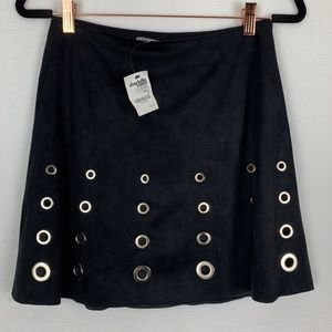 Charlotte Russe Mini Skirt With Rivets